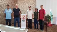 Dörtyol Gazeteciler Cemiyeti ilk olağan kongresini yaptı: Sedat İskenderoğlu yeniden seçildi