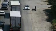 Dron ile Trafikte yapılan denetimlerde 40 Araç sürücüsüne 45 bin lira ceza