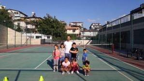 Hatay Büyükşehir Belediyesi Tenis takımı çalışmalarına başladı