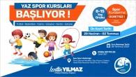 Antakya Belediyesinden gençlere müjde: Ücretsiz yaz spor kursları için kayıtlar başladı