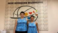 Hatay Büyükşehir Belediyespor'dan  U 18 Milli Takımına 2 oyuncu