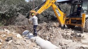 Hatay Büyükşehir Belediyesi alt yapı çalışmalarını sürdürüyor