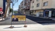 Hatay Büyükşehir Belediyesi ekipleri alt ve üst yapı çalışmalarına hafta sonunda da ara vermedi