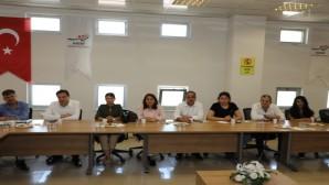 Hatay Büyükşehir Belediyesi ve HAT SU yöneticileri Millet ittifakı yöneticileri ile bir araya geldi!