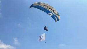Hatay Büyükşehir Belediyesi, Hatay Yamaç Paraşütü şampiyonasına ev sahipliği yaptı