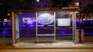 Hatay Büyükşehir Belediyesinden Durak aydınlatmasında ekolojik ve ekonomik sistem