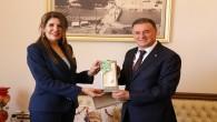 Kuzey Kıbrıs Türk Cumhuriyeti Mersin Başkonsolusu Zalihe Mendeli: Hataylılar ile iç içe yaşıyoruz ve ayrılmaz bir bütün olduk!