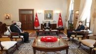 Kuzey Kıbrıs Türk Cumhuriyeti  Mersin Başkonsolosu Zalihe Mendeli  Vali Rahmi Doğan'ı Ziyaret Etti
