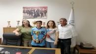 Hatay Büyükşehir Belediyespor Türk Sporuna bir yıldız daha kazandırıyor