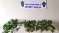 Samandağ'da 1 kilo 90 gram hint keneviri yakalandı