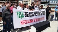 Samandağ'da Tabutlu protesto!