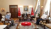 Şehit Polis memuru Çitçi'nin Ailesinden Vali Doğan'a Ziyaret