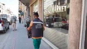 Hatay Büyükşehir Belediyesi'nin Topraksız Tarımın ilk mahsulleri sosyal marketlerde!