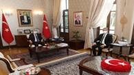 Belen Belediye Başkanı İbrahim Gül'den Vali Rahmi Doğan'a ziyaret