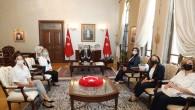 KAGİD Başkanı Çiğdem Kıral'dan Vali Rahmi Doğan'a ziyaret