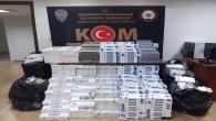 İskenderun'da 2 kişide 12.739 adet gümrük kaçağı sigara yakalandı