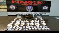 İskenderun'da Uyuşturucu madde ile bir tabanca yakalandı