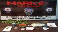 İskenderun'da bir kişide 270 gram esrar ile çeşitli uyuşturucu maddeleri yakalandı