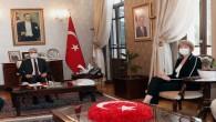 Birleşik Krallık Bakanı Wendy Morton'dan Vali Rahmi Doğan'a Ziyaret