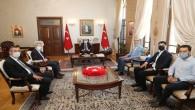 Vali Rahmi Doğan BM Suriye Krizi Bölgesel İnsani Yardım Koordinatörü Muhannad Hadi'yi kabul etti