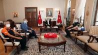 Vali Doğan AFAD Başkan Yardımcısı Önder Bozkurt'u ağırladı
