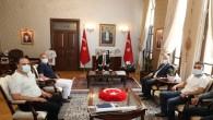 Hatay Merkez Oto Galericileri Kooperatif Başkanı  Şükrü Kanatlı'dan Vali Rahmi Doğan'a ziyaret