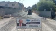 Antakya Belediyesi'nin şehir genelindeki yol çalışmaları devam ediyor