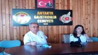 Hatay Büyükşehir Belediyesi Basın Yayın Daire Başkanı Nida Yılmaz'dan AGC'ye ziyaret