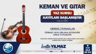 Antakya Belediyesi'nin Keman ve Gitar Kursları için kayıtlar başladı