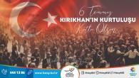 Başkan Lütfü Savaş: Kırıkhan'ımızın düşman işgalinden kurtuluşunun 83. yıl dönümü kutlu olsun