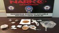İskenderun'da 4 uyuşturucu satıcısında 54 captagon ve sentetik Kannabinoid madde yakalandı
