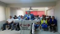 CHP Hatay İl Başkanı Hasan Ramiz Parlar: Bu kötü gidişi biz değiştireceğiz!