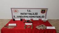 Reyhanlı'da Jandarma 7 Define avcısını yakaladı