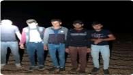 Reyhanlı ilçesinde  kaçak yoluyla Türkiye'ye geçen 5 göçmen yakalandı