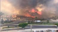 Hatay Büyükşehir Belediyesi itfaiyesinden Kadirli'deki yangına destek