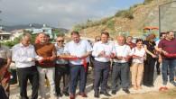 Samandağ Belediye Başkanı Refik Eryılmaz, Çöğürlü Parkı'nın açılışını gerçekleştirdi