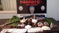 İskenderun'da uyuşturucu satıcılarına operasyon: 4 kişi çeşitli uyuşturucu madde ve 1 tüfekle yakalandı!