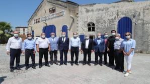 Vali Rahmi Doğan İskenderun PAC meydanında  yapılacak  cami alanında incelemelerde bulundu