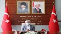 Vali Rahmi Doğan Başkanlığında Mehmet Şah Vakıf İş Hanı Toplantısı Gerçekleştirildi
