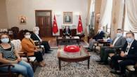 Kültür ve Sanat Muhabirlerinden Vali  Rahmi Doğan'a Ziyaret