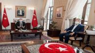 Hatay Yörük Türkmenleri Derneği'nden Vali Rahmi Doğan'a Ziyaret
