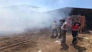 Yayladağı'ndaki yangın Hatay Büyükşehir Belediyesi İtfaiyesi'nin hızlı müdahalesiyle söndürüldü