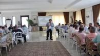 Samandağ Belediye Başkanı Refik Eryılmaz iş insanlarıyla kahvaltıda buluştu