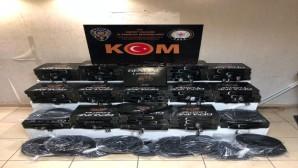 Kırıkhan ilçesinde Gümrük kaçağı 900 kemer yakalandı