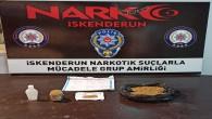 İskenderun'da uyuşturucu maddesi satıcısı tutuklandı