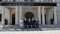 Kardeş Şehir Aalen Heyeti'nden Vali Rahmi Doğan'a Ziyaret
