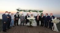 Vali Rahmi Doğan Şehit Polis Memuru Mehmet Selçuk'un kızının düğününe katıldı