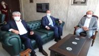 Vali Rahmi Doğan'dan emekli Kaymakam Özyiğit'e Başsağlığı ziyareti