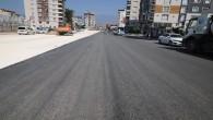 Hatay Büyükşehir Belediyesi Antakya'daki asfalt çalışmalarına devam ediyor