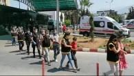 İskenderun'da Asayiş Operasyonu: 13 kişi bir tabancayla yakalandı